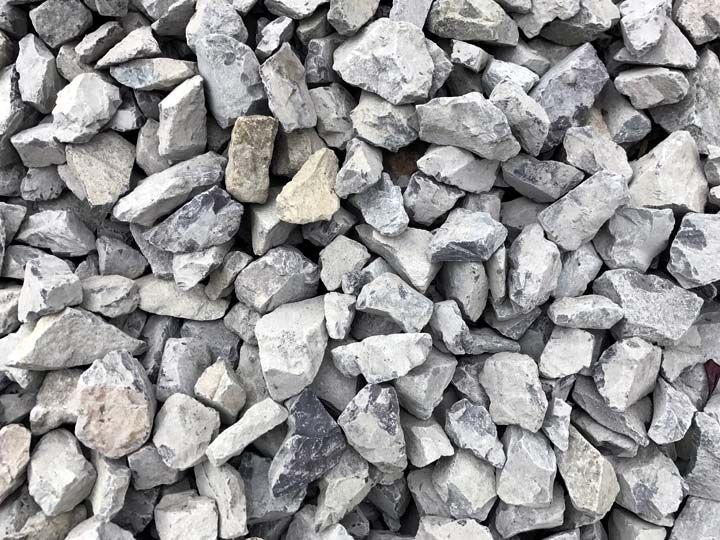 """Crushed Rock - 1-1/4"""" clean"""